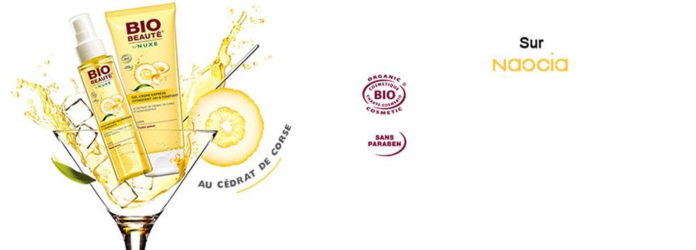produits Bio Beauté au cédrat de Corse