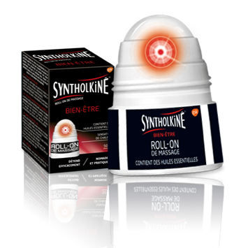 syntholkiné roll-on de massage