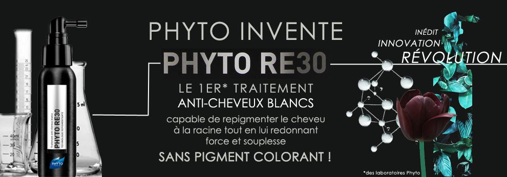 Phyto RE30 cheveux blancs