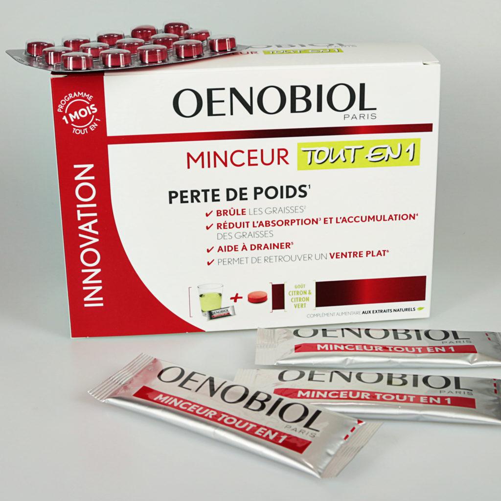 Oenobiol Minceur Tout en 1, un programme complet en sticks et comprimés