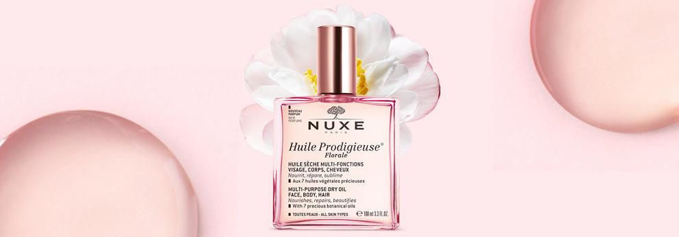 Nuxe Huile Prodigieuse Florale, la vie en rose