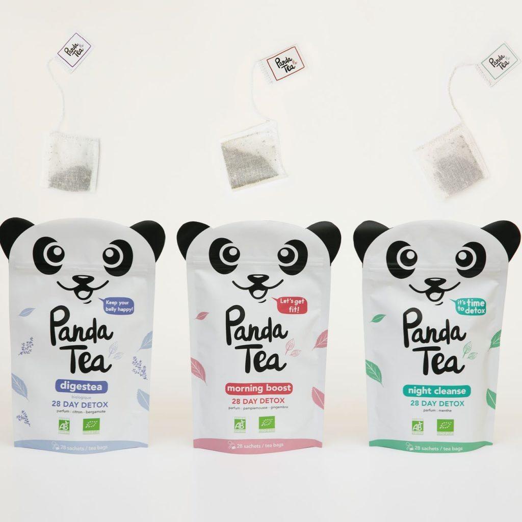 Panda Tea sachet coton