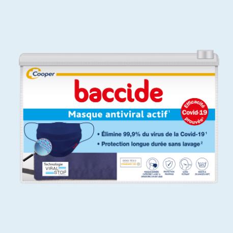 masque tissu baccide