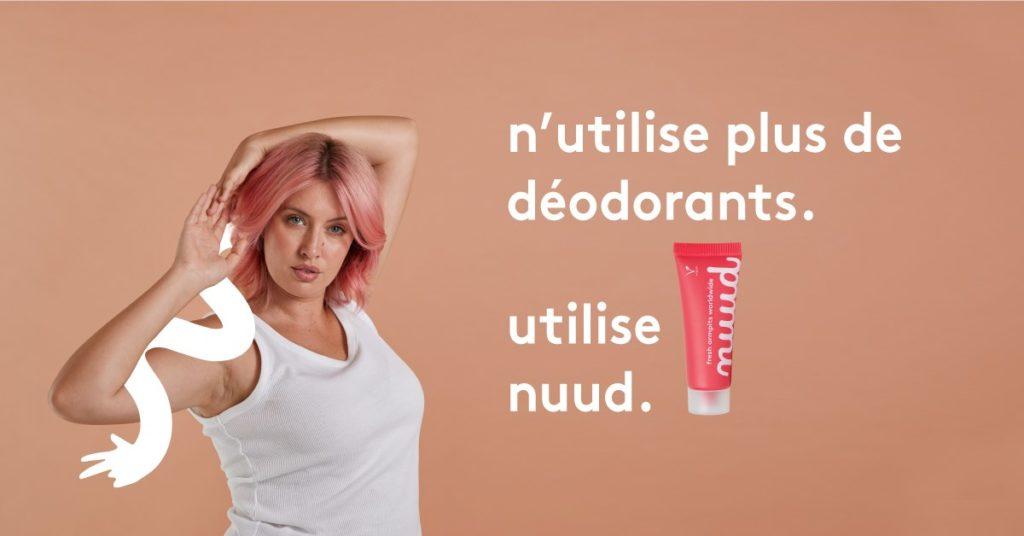 Nuud déodorant pharmacie parapharmacie